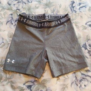 Under Armour Women's Middy/Shorts – Grey/Charcoal